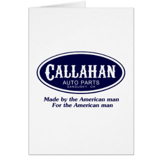 Callahan Auto Parts Logo Card