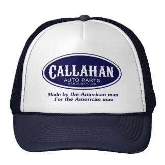 Callahan Auto Parts Logo Trucker Hat