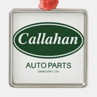 Callahan Auto Parts Metal Ornament