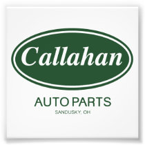 Callahan Auto Parts Photo Print
