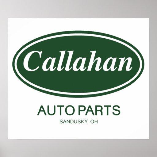 Callahan Auto Parts Poster