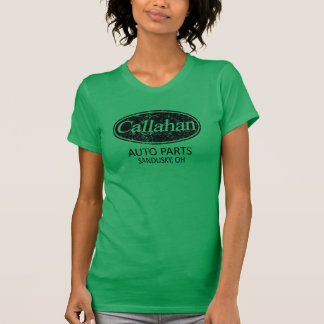 Callahan Auto Parts Retro Tee Shirt