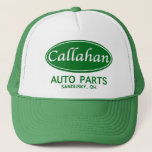 """Callahan Auto Parts Trucker Hat! Trucker Hat<br><div class=""""desc"""">working for the American working man. because that&#39;s who I am and that&#39;s who I care about.</div>"""