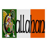 Callahan Celtic Dragon Print