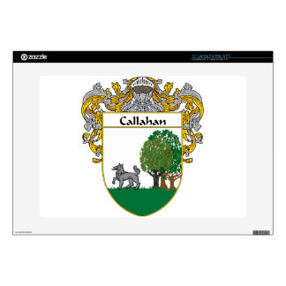 """Callahan Coat of Arms/Family Crest 15"""" Laptop Decals"""