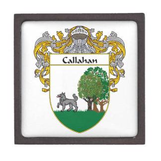 Callahan Coat of Arms/Family Crest Keepsake Box