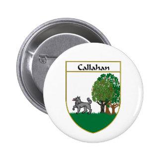 Callahan Coat of Arms/Family Crest Pinback Button