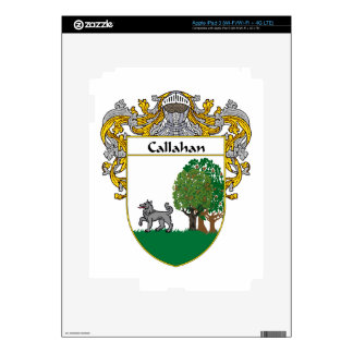 Callahan Coat of Arms/Family Crest Skin For iPad 3