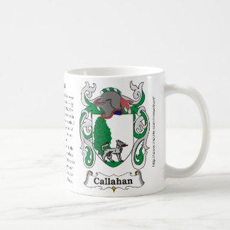 Callahan, el origen y significado en una taza