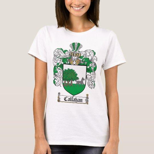 CALLAHAN FAMILY CREST -  CALLAHAN COAT OF ARMS T-Shirt