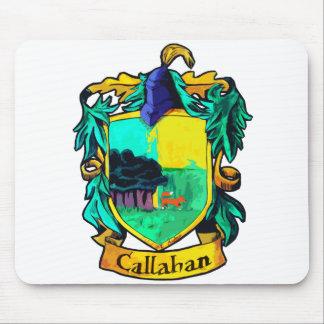 Callahan Family Crest (cutout) Mouse Pad