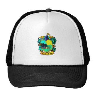 Callahan Family Crest (cutout) Trucker Hat