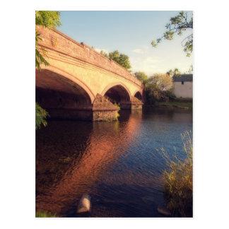 Callander Bridge Scotland Postcard