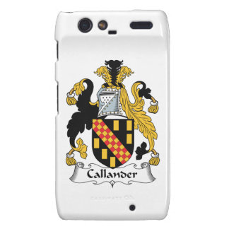 Callander Family Crest Droid RAZR Cases