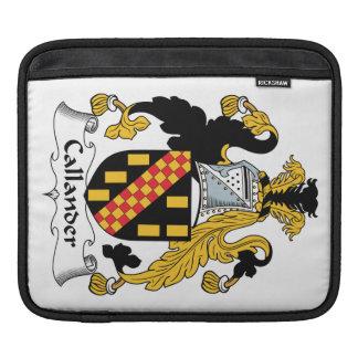 Callander Family Crest iPad Sleeves