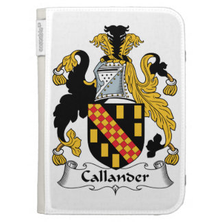 Callander Family Crest Kindle Cover