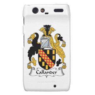 Callander Family Crest Motorola Droid RAZR Cases