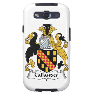 Callander Family Crest Samsung Galaxy S3 Cases
