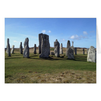 Callanish, Isle of Lewis Card