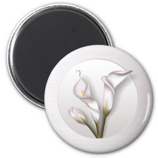 Callas In Frame 2 Inch Round Magnet