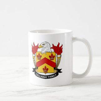 Callaway Family Crest Coffee Mug