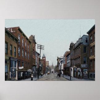 Calle 1910 del Cumberland Maryland Baltimore Impresiones