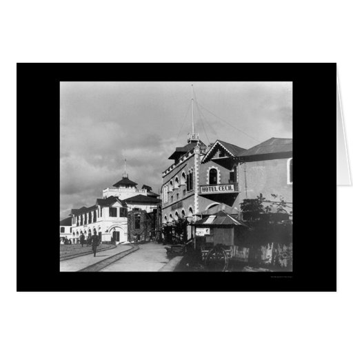 Calle 1912 de Mombasa, Kenia Tarjetas