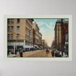 Calle 1914, Toronto de la reina del vintage, Canad Impresiones
