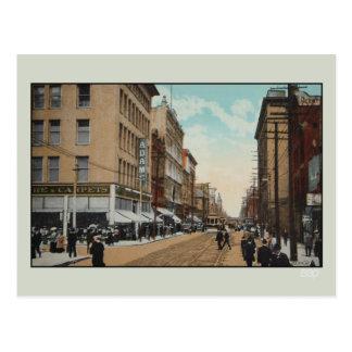 Calle 1914 Toronto de la reina del vintage Canad Postales