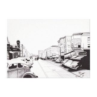 Calle 1944 de Florencia Borbón Impresion En Lona