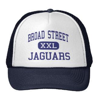 Calle amplia - jaguares - alta - Shelby Mississipp Gorros Bordados