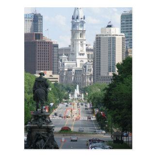 Calle amplia - Philadelphia Tarjeta Postal