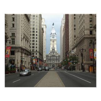 Calle amplia Philly/IMPRESIÓN de la FOTO de ayunta