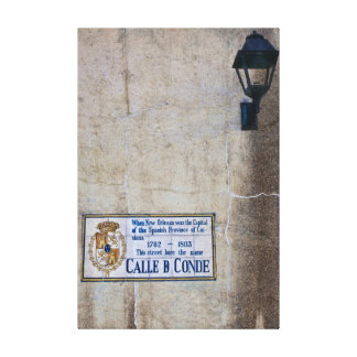Calle Conde Canvas Print