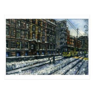 Calle de Aytoun, Manchester de Anthony McCarthy Postales