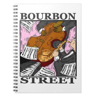 Calle de Borbón Libro De Apuntes