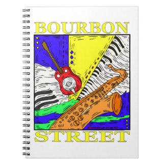 Calle de Borbón Cuaderno