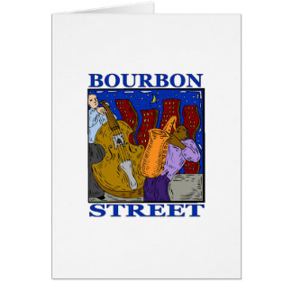 Calle de Borbón Tarjeta De Felicitación