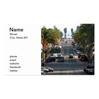 Calle de California Tarjetas De Visita