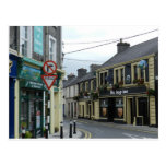 Calle de Davis, Athenry, Irlanda Tarjeta Postal