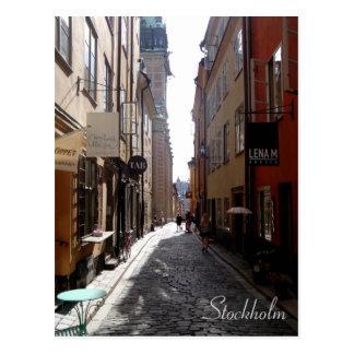 Calle de Estocolmo Postales