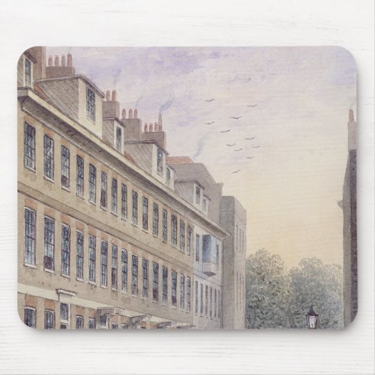 Calle de Fludyer que mira hacia el parlamento Mouse Pads