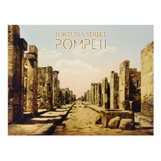 Calle de Fortuna, Pompeya, Italia Postales