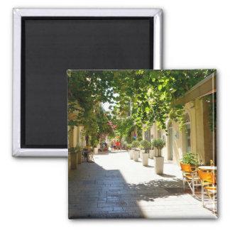 Calle de Grecia Corfú, imán