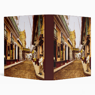 Calle de Habana Havana Cuba Binder