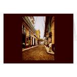 Calle de Habana La Habana Cuba Tarjeta