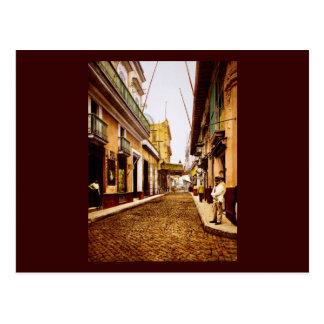Calle de Habana La Habana Cuba Tarjeta Postal