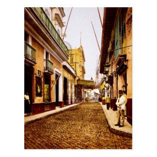 Calle de Habana La Habana Cuba Postal