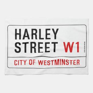 Calle de Harley Toallas De Mano
