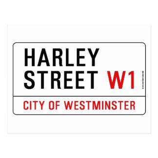 Calle de Harley Tarjetas Postales